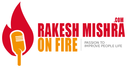 Rakesh Mishra on Fire
